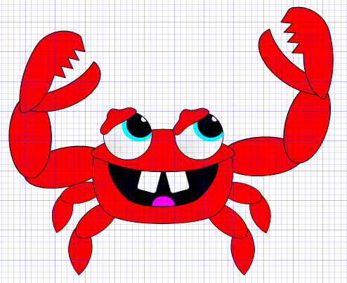 InkscapeCrab