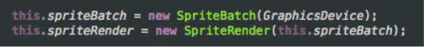 Code-SpriteBatchAndRender