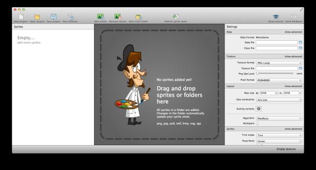 TexturePacker-CreateProject